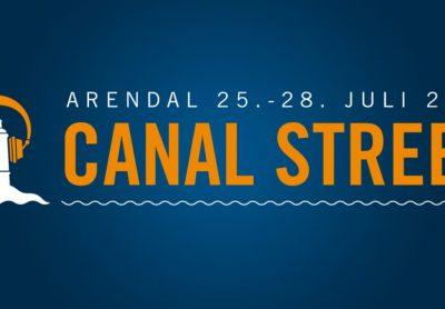 Canal Street-festivalen i Arendal starter i dag, onsdag 25.07.!