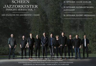Scheen Jazzorkester med nytt konsertprosjekt: