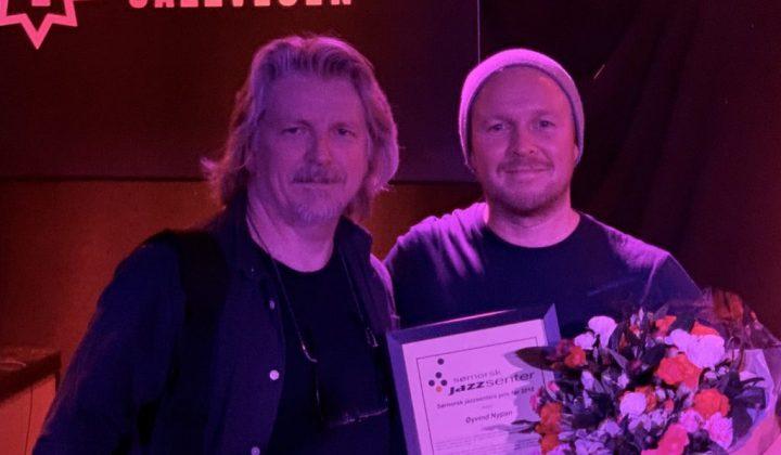 Sørnorsk jazzsenterprisen for 2018 til Øyvind Nypan