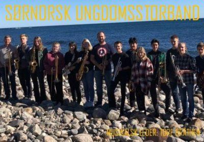 Konserthelg med Sørnorsk Ungdomsstorband