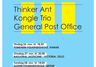 Framtida i norsk jazz 2019-turnéen nærmer seg!